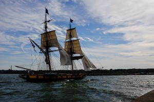 Flagship Niagara in the Channel at North Pier